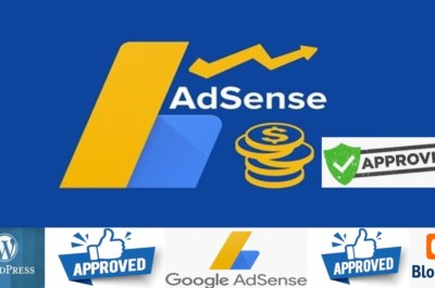 How do I get Adsense approval with a blogspot blog?